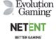 Evolution gaming netent igaminmalta